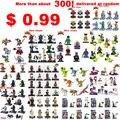 1 unids ninja/spuer hero/star wars/jurásico/mi mundo/nexus knight/piratas/amigos/deadpool es mini bloques de construcción de juguetes