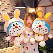 WYZHY Cute cute pets love to transform the machine cat sofa bedroom decoration send friends and children gifts  50CM