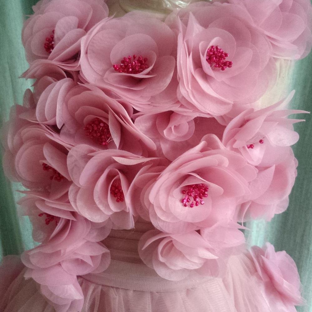 Beautiful Light Purple Flower Girl Dresses For Wedding Hand Made