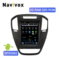 Navivox Android 6.0 Car Radio Tesla Style GPS Navigation DVD Player for Opel Insignia Vauxhall Holden/Buick Regal 2008 2013