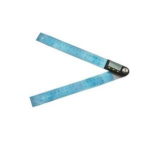 Image 3 - Règle dangle numérique 2 en 1 avec lames en acier inoxydable, 200mm, rapporteur numérique, goniomètre numérique