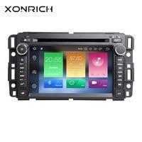Xonrich 1 Din Android 8,0 радио Автомобильный DVD плеер для GMC Sierra Chevrolet Traverse Express Yukon Denali Acadia Savana equinox