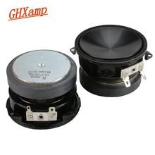 GHXAMP 2,5 дюймов 4 Ом 25 Вт Полнодиапазонный динамик автомобильный динамик домашний кинотеатр аудио громкий динамик s DIY Fever класс 2 шт