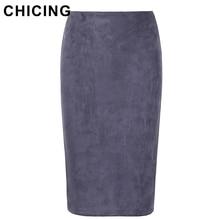Женская юбка CHICING 2016 Midi Bodycon