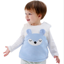 Vest Baby Cotton for 0-10 Months Boys Girls Newborn Infant Toddler Outerwear Fox-Style