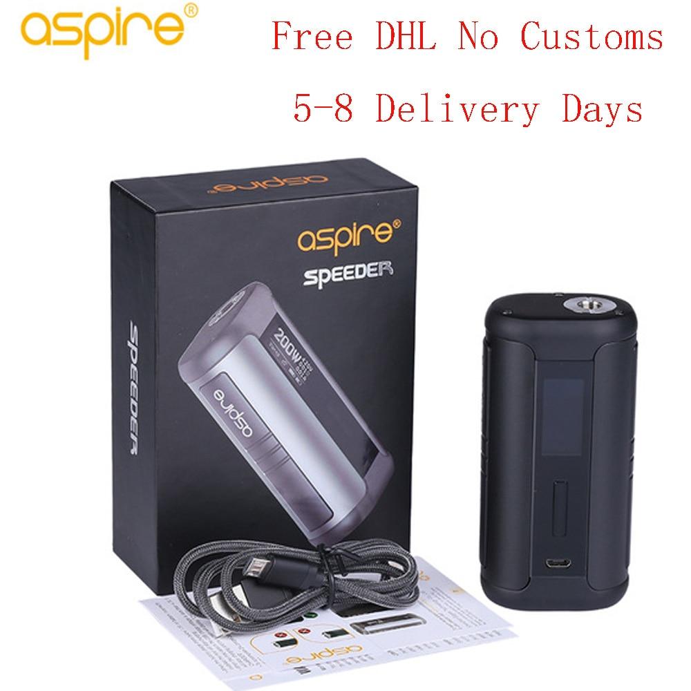 Original 200 Watt Aspire Speeder mod elektronische zigarette kompatibel mit Athos tank