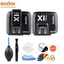 Godox X1 zestaw TTL 2.4G bezprzewodowy wyzwalacz lampy błyskowej nadajnik i odbiornik do Canon dla Nikon dla Sony godoxTT685 V860 Flash lampy błyskowej speedlite
