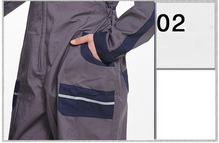 Mens Work Clothing Long Sleeve Coveralls High Quality Overalls Worker Repairman Machine Auto Repair Electric Welding Plus Size (4)