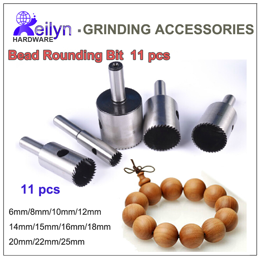 Free Shipping Super hard HSS Bead Rounding Bits Rounding Drill Bits  Ball Shaper 11 pcs machine tool accessory vinod singh yadav dilip sharma and shyam lal soni hydrogen operated c i engine