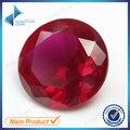 Atacado 1 ~ 3mm 500 pcs 5 # preços rubi pedra corte redondo rubi sintético corindo pedra para jóias