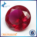 Wholesale 1~3mm 500pcs 5# synthetic ruby stone prices round cut ruby corundum stone for jewelry