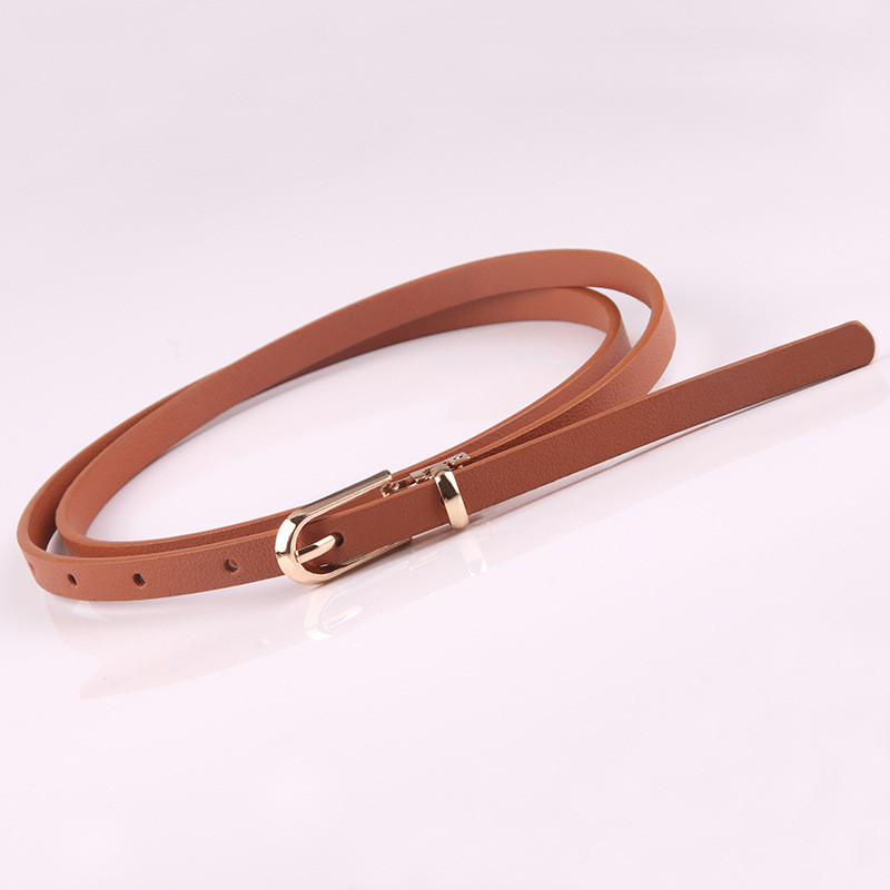 HTB1NeDpae6sK1RjSsrbq6xbDXXab - Women Faux Leather Belts Candy Color Thin Skinny Waistband Adjustable Belt Women Dress Strap cinturon mujer cinto feminino
