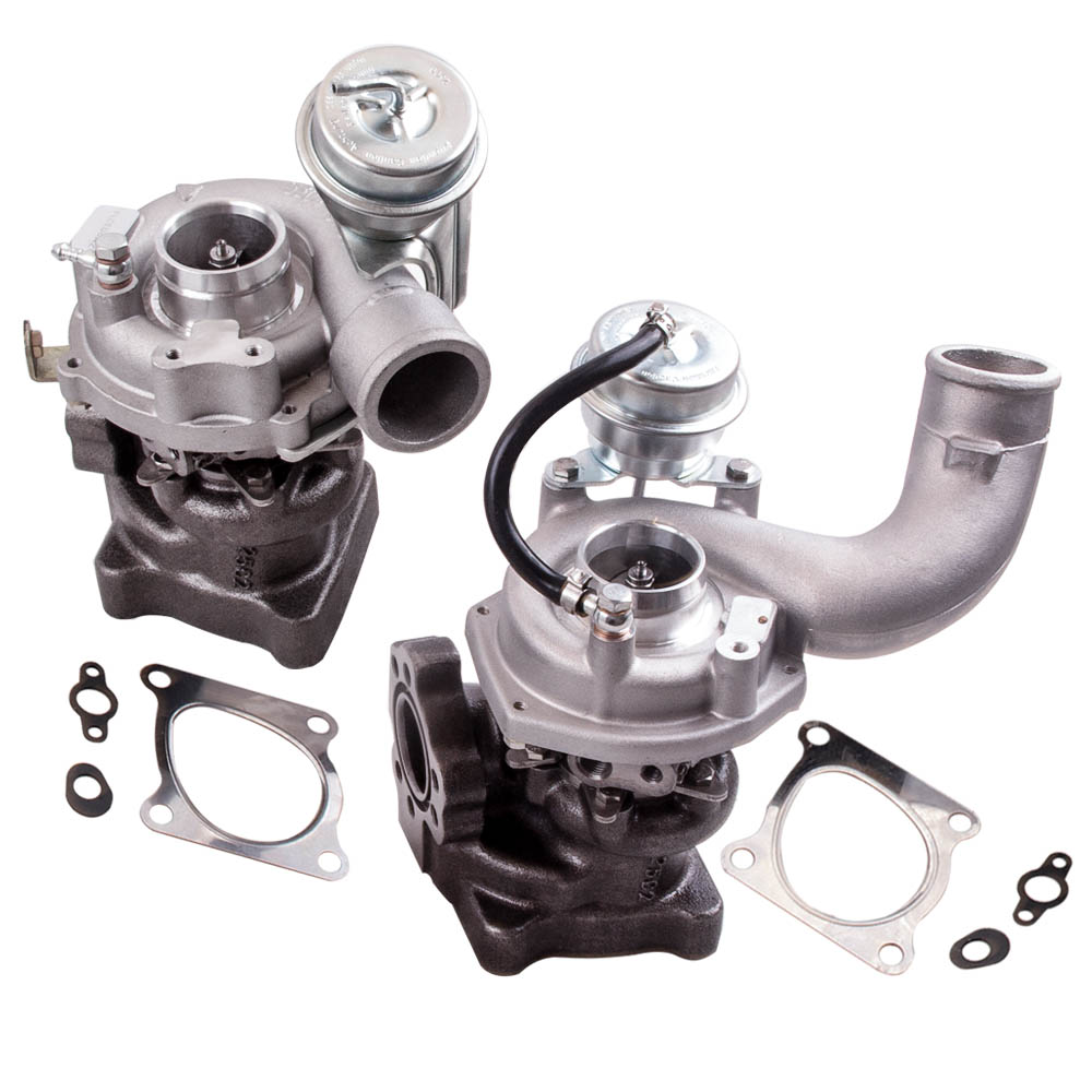Surclassement double Turbolader pour Audi RS4 S4 B5 A6 4B 2,7 T 53049880025 53049880026 Turbo turbocompresseur pour Allroad Quattro ASJ/AZR