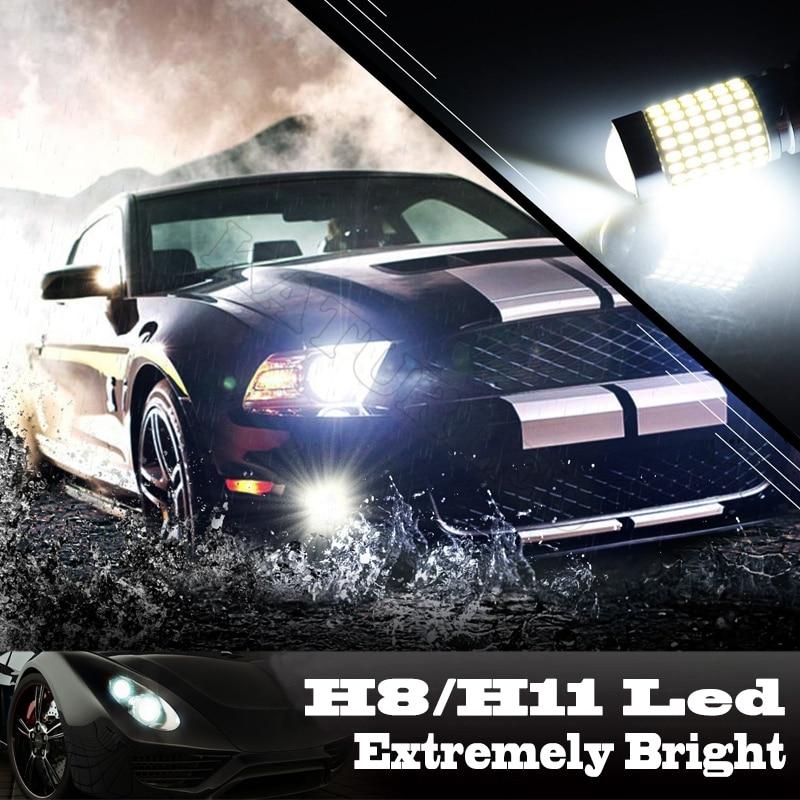 1 pcs H11 H16 Lampu LED 1500 Lumens Chipset H8 144-EX Sangat Terang - Lampu mobil - Foto 5