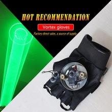 Вихревые лазерные автоматические зеленые вихревые танцевальные DJ Клубные лазерные перчатки