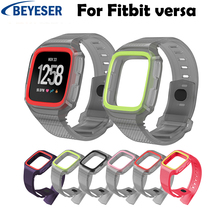 Silicone Replacement Sport Wristband for Fitbit Versa Watch Band Strap Bracelet Wrist Watchband Colorful Bands