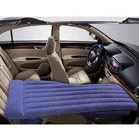 Car Travel Bed Inflatable Rest Bed Front Row Car Air Mattress Self Driving Tour Sleeping Pad Trunk Sedan Suv Repose Cushion Ne'W