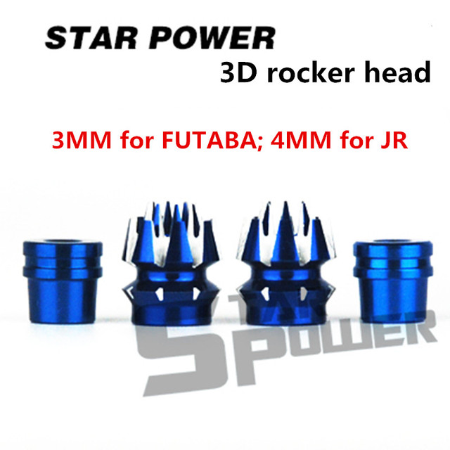 Original 1pair Of Star Power 2 Layer 3D Non Slip Color Remote Control Rocker Head