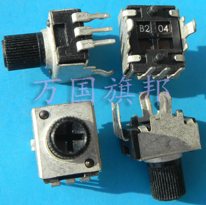 Free Delivery. R0902N 09 0932 Potentiometer Type B204 B200K Used 200 K The Vertical Short Shank