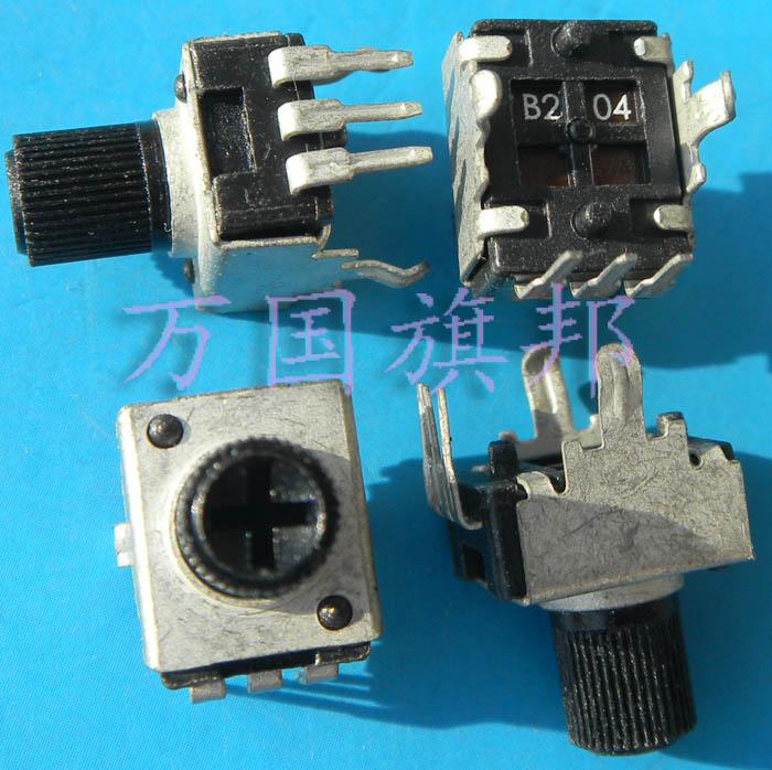 Бесплатная доставка. R0902N 09 0932 Тип потенциометра B204 B200K используется 200 k вертикальный короткий хвостовик