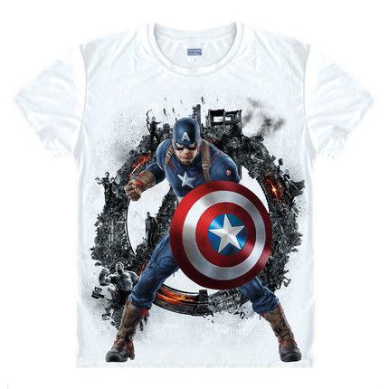 0bb6d431675 ... Avengers T Shirt Ironman Captain America Iron men Hawkeye Black Widow  Marvel T-shirt Super ...