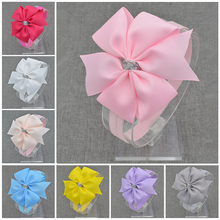 Bows headbands bowknot headwear headband toddler bow infant girls silver accessories