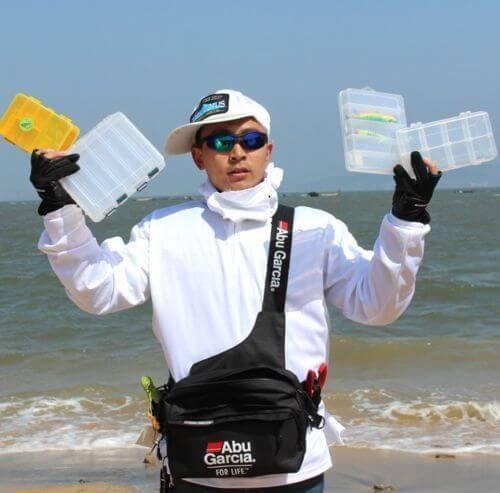 Sac à ceinture de pêche, sac de matériel de pêche, sac à bandoulière, taille étanche, étui à bobine, leurre, crochet à ligne, connecteur pivotant, sac à ceinture