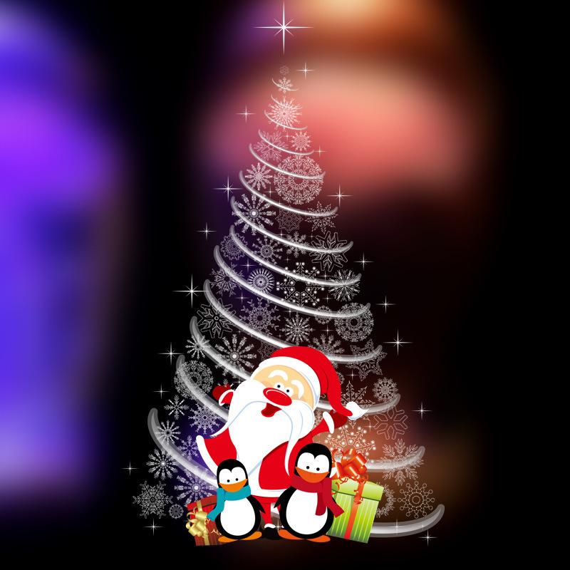 Creative Christmas wall stickers shop window glass doors and windows decals decorations decorations Christmas tree stickers