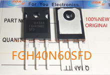 10PCS IC  100%Original authentic FGH40N60SFD FGH40N60 40N60  600V 40A  IGBT TO 247