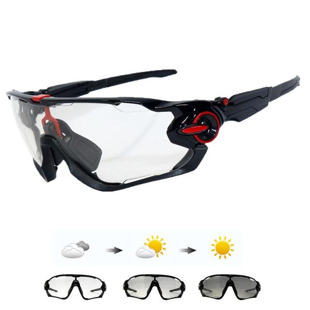 c6eb0bf697 Hot SALE Clear Photochromic Cycling Glasses Men Women Sports Mountain Road  Bike Bicycle Cycling Sunglasses Eyewear