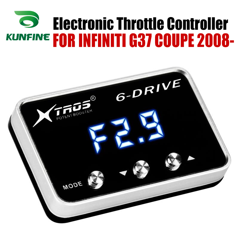 Car Electronic Throttle Controller Racing Accelerator Potent Booster For INFINITI G37 COUPE 2008 2019 Tuning Parts Accessory|Car Electronic Throttle Controller| |  - title=