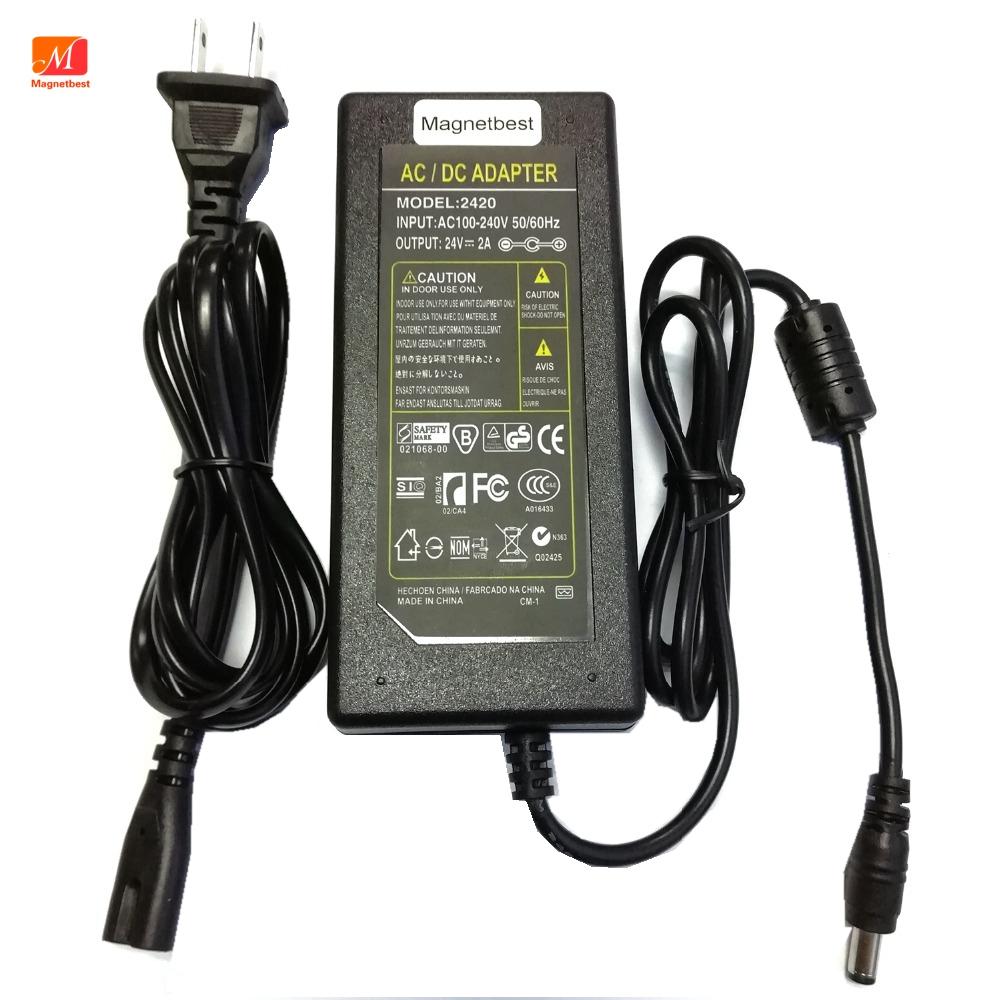 DC адаптер Зарядное устройство 24V 2A для принтера Canon принтерам CA-CP200 CP910 CP900 CP800 CP760 24V 1.8A Мощность адаптер