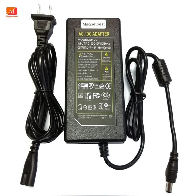 DC Adapter Charger 24V 2A for Canon Printer CA CP200 CP910 CP900 CP800 CP760 24V 1.8A Power Adapter