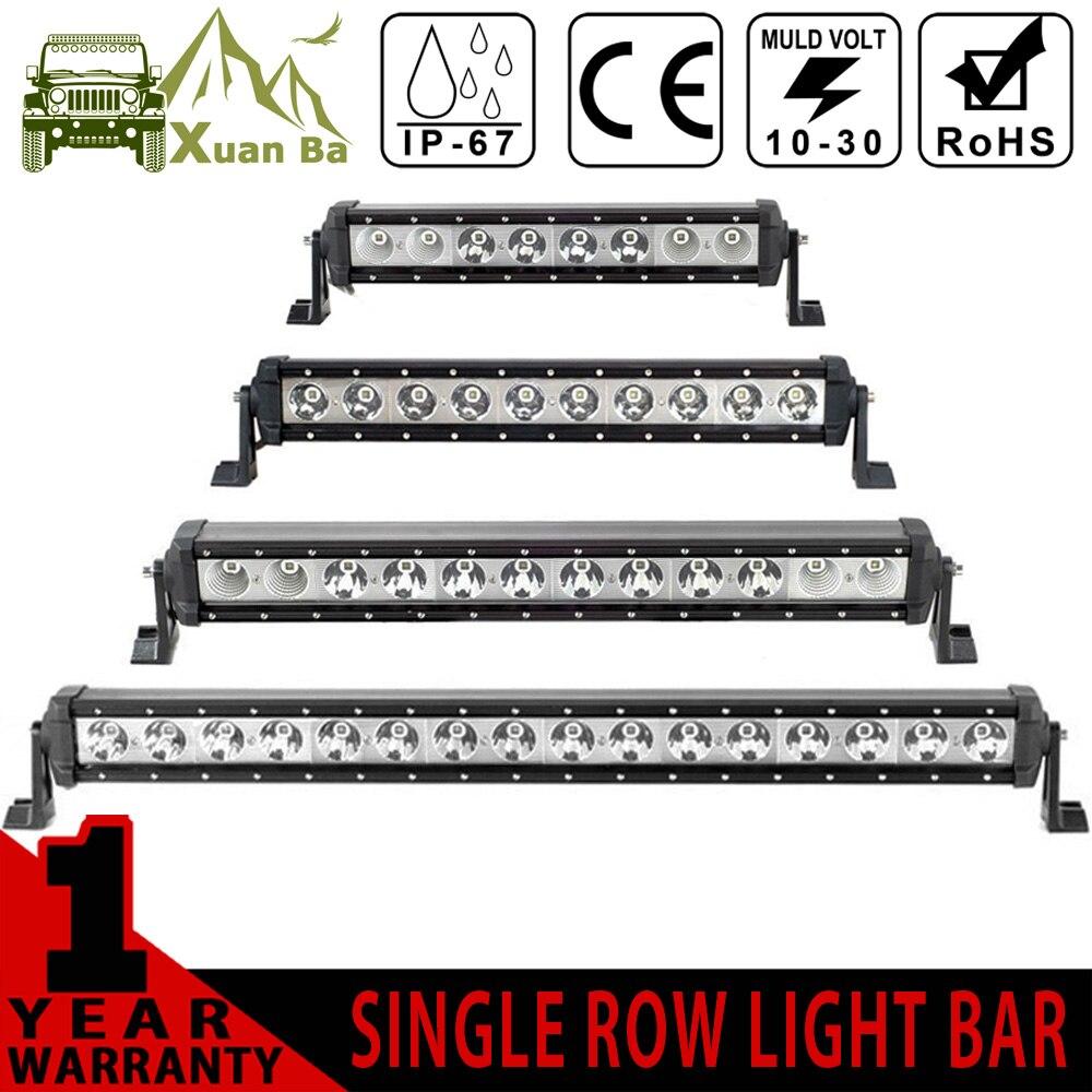 xuanba coche conducido barra de luz v w led bar off road x combo