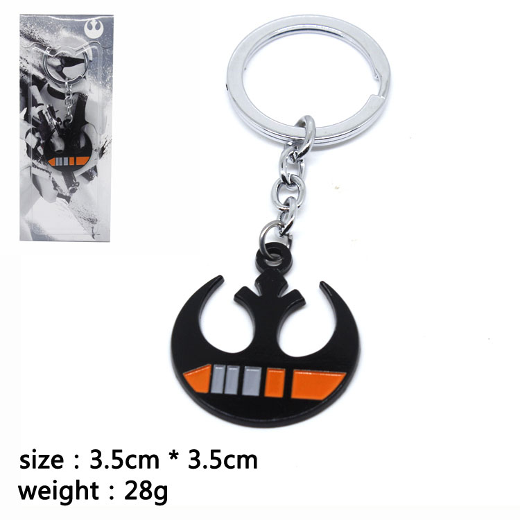 New Arrival Star Wars Key Chain Car Key Ring Parts Accessories Novel Pendant Gun Key Ring Camera Key Chains Novel Gifts image