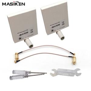 Image 1 - MASiKEN WiFi Signal Range Extender Antenna For DJI Phantom 4/Phantom 3 Advanced Professional For DJI Phantom4 Drone Accessories