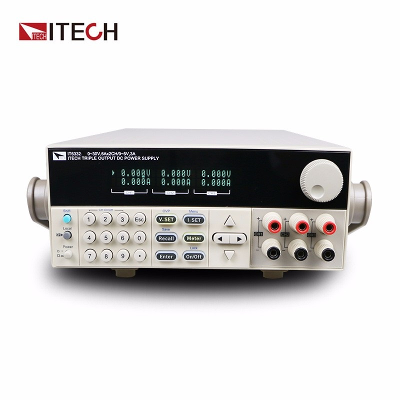 ITECH IT6332L three-channel programmable DC power supply Load power Power Lab AC220V/AC110V itech k136dw