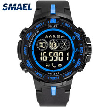 SMAEL Digital Watches 8012 Bluetooth Men Watch Sport 50M Waterproof Smart Clock Relojes Hombre Military LED