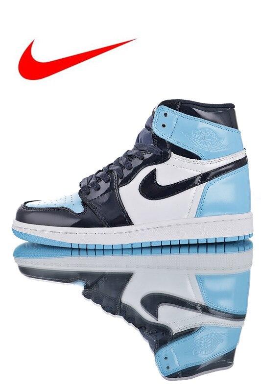 super popular 63840 ea6ed Original Nike Air Jordan 1 Retro High OG AJ1 Men s Basketball Shoes Sneakers,  Original Outdoor Non-slip Shoes CD0461-401
