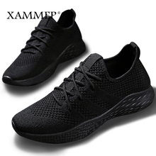 Men Casual Shoes Men Sneakers Brand Men Shoes Male Mesh Flats Loafers Slip On Plus Big Size Breathable Spring Autumn Xammep(China)