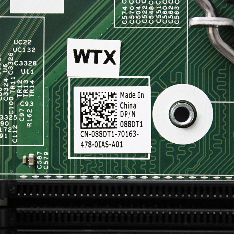 088DT1 Original For DELL 3900 3010 3000 3800 3647 3020 3847 SFF H81 desktop motherboard LGA1150 DDR3 MIH81R 13040-1M GGDJT 4