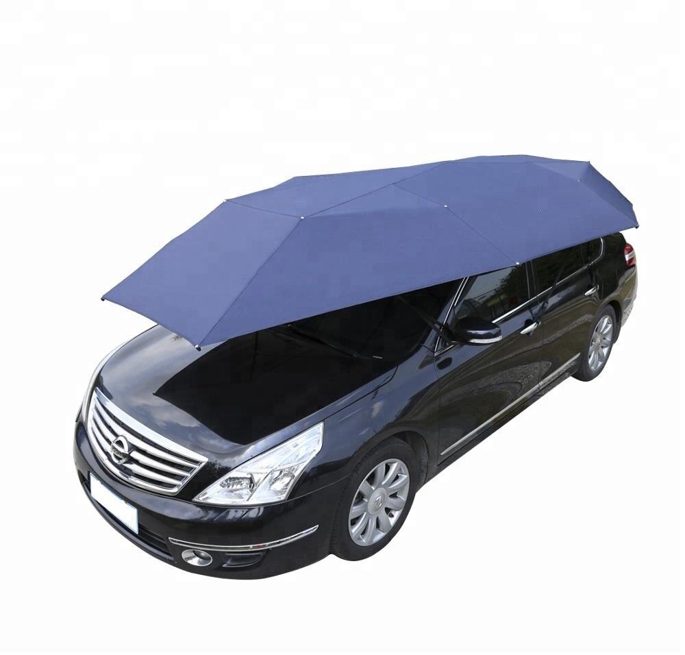 Parapluie imperméable de voiture-parapluie de voiture 4.6 mètre portatif manuel