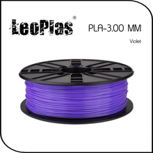 Worldwide Fast Delivery Direct Manufacturer 3D Printer Material 1 kg 2.2 lb 3mm Violet PLA Filament