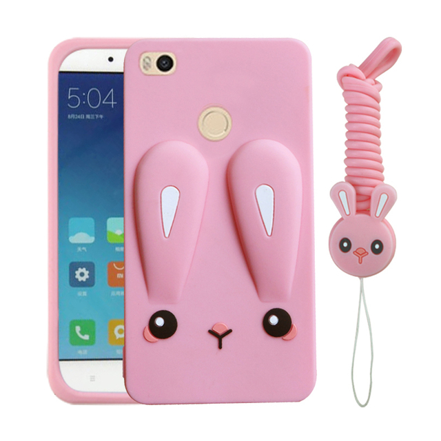 cheaper fd6e0 5640b US $3.86 8% OFF|Cute Color Printed Case for Xiaomi Mi Max 2 Case Soft  Silicon Back Cover with Lanyard Mi Max 2 6.44-in Fitted Cases from  Cellphones & ...