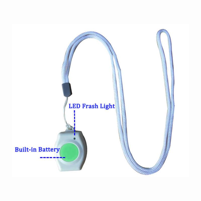 Botón de pánico portátil inalámbrico, botón de pánico accesorio gsm para ancianos, botón SOS, botón de emergencia, RF 433,92 MHz PT2240 (EM-60)