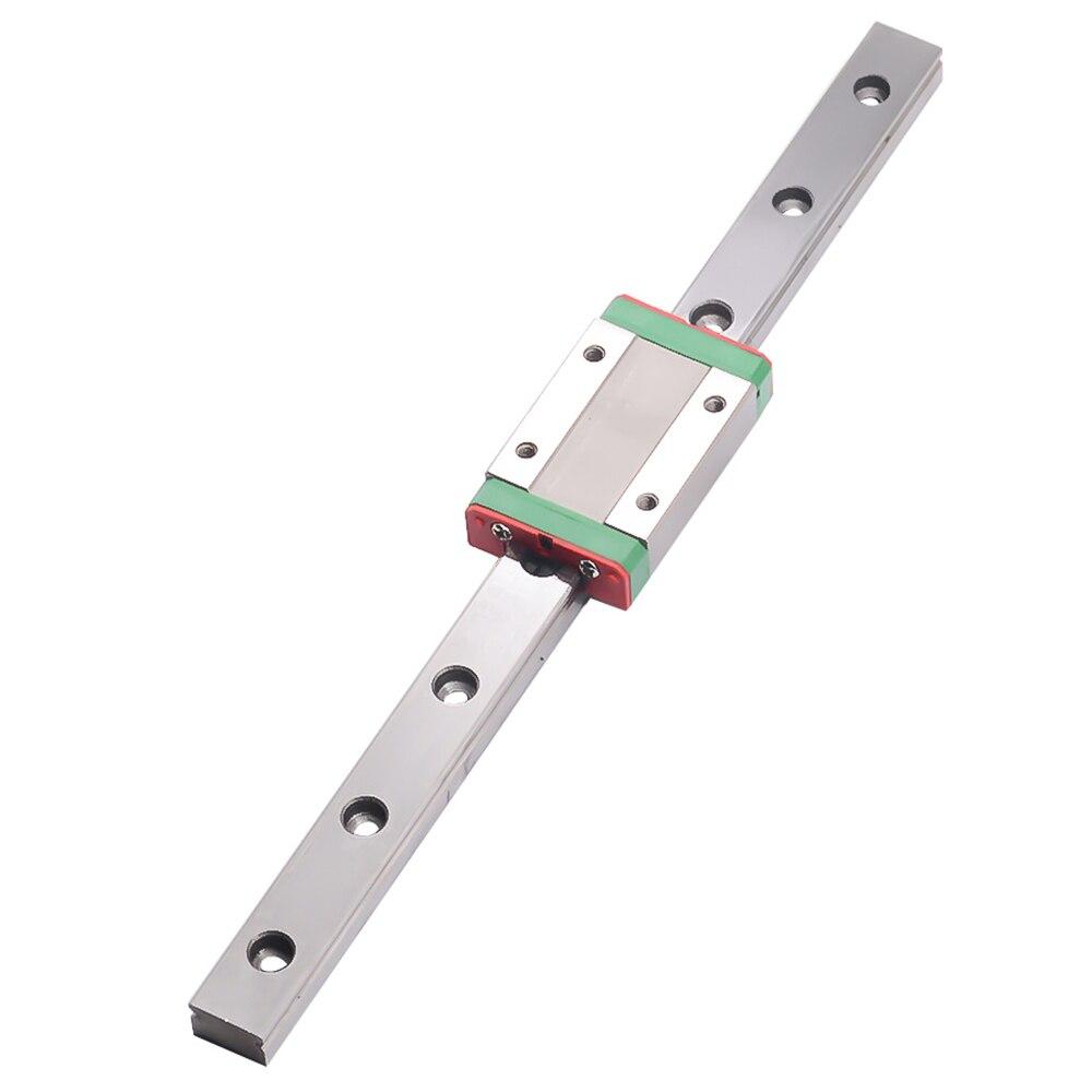 3D pièces d'impression CNC Kossel Mini MGN15 15mm miniature rail linéaire diapositive 1 pièces 15mm L-700mm rail + 1 pièces MGN15H transport