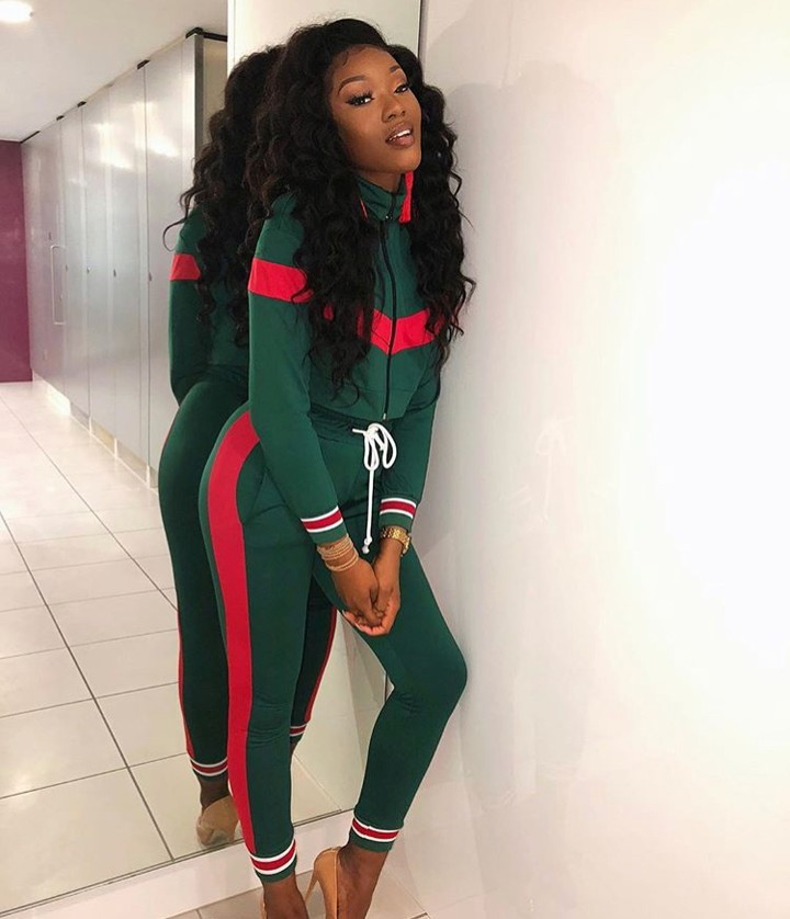2019 New North American Style Round Collar Sexy Fashion Patchwork Pencil Pants Zipper Sport Suit Two-piece Sport Suit