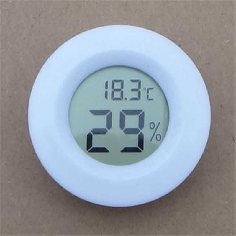 Mini lcd digital termômetro higrômetro medidor de temperatura do aquário geladeira congelador tester medidor de umidade temperatura detector