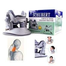 Dördüncü Nesil hakiki Schubert Servikal traksiyon cihazı ev servikal traksiyon cihazı boyun Baş masaj ücretsiz kargo