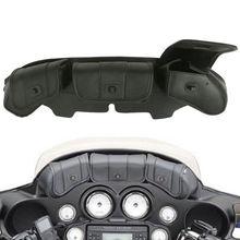 Windshield Bag Tri Pouch 3 Pocket Fairing For Harley Touring Electra Street Glide 96-13 FLHT FLHTC FLHX FLHTK 1996-2013 12 цена 2017